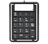 USB Wired Numeric Keypad