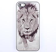 Lion Design Aluminium Hard Case for iPhone 5/5S