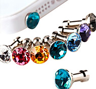 Joyland Diamond Anti-Dust Earphone Jack (Random Color)