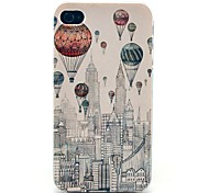 Balloon New York City Building Pattern Hard Case for iPhone 4/4S