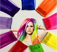 Clip su clip di estensione dei capelli di vendita calda Staright modo all'ingrosso Bueatiful 20 Inch Beauity Bianco Specil ordine