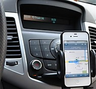 APPS2CAR ® Slot Cd Universal Car Mount Holder para el iPhone Samsung Nokia Sony LG HTC Mobile Los dispositivos de GPS