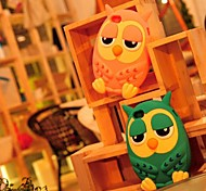 Toophone ® JOYLAND Owl Cartoon gel di silice Back Cover per iPhone 4/4S (colori assortiti)