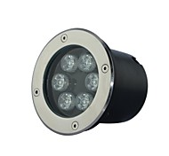 6 LED High Power / pur / Cool White Light Underground AC85-265V chauffent