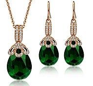 Jewelry-Necklaces / Earrings(Gold Plated)Wedding / Party / Daily Wedding Gifts