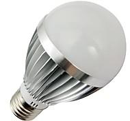 LOHAS Lâmpada Redonda E26/E27 7 W 660-690 LM 2800-3200K K Branco Quente 14 SMD 5730 AC 100-240 V