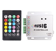 Telecomando LED RGB Strip Music regolatore 288W IR (12 ~ 24V)