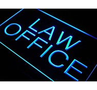 Law Office Display Services Neon Light Sign