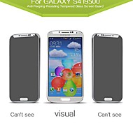 Russian Spanish Engish Version Privacy Anti-Spy Tempered  Glass Screen Protector for Samsung Galaxy S4 /I9500