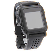 Fashion Komfortable Komfortable MP4 Smart Watch Player (Schwarz)
