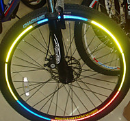 Bike Wheel Rims Luminous Reflective Stickers(Assortted Colors)