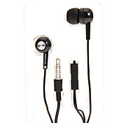 SN-009P 3.5mm In-Ear Stereo Headphones with Mic for Samsung&iPhone&Sony&HTC Cell Phones&Tabs