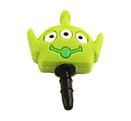 Joyland Cartoon Three-Eyes Monster Rubber Anti-Dust Earphone Jack