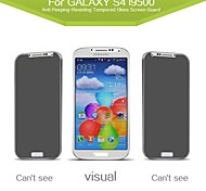 Russian Spanish Engish Version  2.5D Anti-Spy Tempered Privacy Glass Screen Protector for Samsung Galaxy S4 /I9500