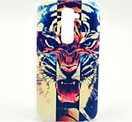 Cross Tiger Pattern Hard Case for HTC G2/D801 Magic