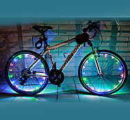 Bike Lights / Wheel Lights LED Cycling Waterproof AA Lumens Battery Cycling/Bike-FJQXZ®