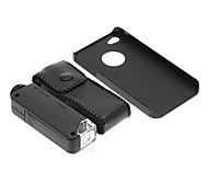 iPhone 4/S Cell Phone Case and 100 Times Magnifying Lens in Set