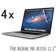 [4-Pack] High Quality Invisible Shield Smudge Proof Screen Protector for MacBook Pro Retina 13.3-Inch