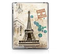 Patrón Torre de Hierro Pegatina protectora para el iPad 1/2/3/4