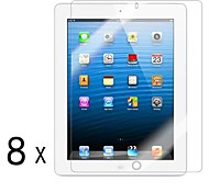[8-Pack] alta calidad Invisible Shield Smudge Protector de pantalla para iPad Prueba 2/3/4