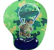 Shenguangjukui Mouse Pad Camouflage Turtle