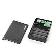 DIY Universal 4 x 18650 Battery Box / Banca di potere 5V kit USB (questo articolo batteria non inclusa)