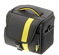 NEW Nylon Large Size Camera Bag SLR (giallo, rosso)