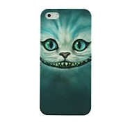 Evil Cat Face Pattern Hard Case for iPhone 5/5S