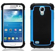 2-в-1 шаблон дизайна шестиугольника жесткий чехол с силиконовой внутренней стороне обложки для Samsung Galaxy S4 мини-i9190