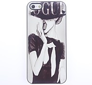 Unique VOGUE Design Aluminium Hard Case for iPhone 5/5S