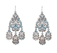 Fashion Painted Chandlier Earrings
