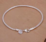 Damen Armbänder Kette Silber