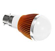 B22 5 W SMD 5730 400 LM Cool White Globe Bulbs AC 85-265 V