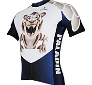 PaladinSport Men's Cycling Jersey Short Sleeve Little Tiger Spring , Summer Short Sleeved Cycling Jersey