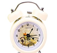 "Timess™ 3""H Fairy Tale Houses Bell Night-light Mute Alarm Clock"