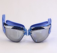 Electroplating Electroplating Super Gorgeous Colorful Swimming Glasses Blue