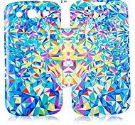 Abstract Painting Series Leather Full Body Case for Samsung Galaxy S3 I9300 (Assorted Color)