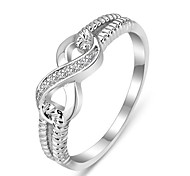 Genuine 925 Rings for Women Sterling Silver Jewelry Designer Brand Rings Wedding Rings Lady Infinity Rings