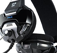 E-3lue Cobra 707 Blue Light Over-Ear Professional Gaming Headset with Microphone for PC