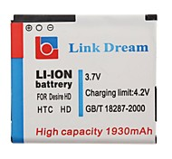 Link Dream High Quality 3.7V 1930mAh Cell Phone  Battery for HTC  Inspire 4G  (Desire HD)