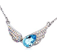 Women's Fashion The Angel of Love Necklace Made with Swarovski Elements