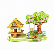3D Puzzle  Mini Cartoon Paradise Toy  for Kids