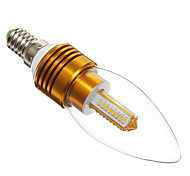 E14 3 W 32 SMD 3014 300 LM Warm White Candle Bulbs AC 85-265 V