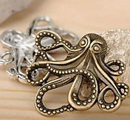 Eruner®42*35MM Alloy Octopus Charms Pendants Jewelry DIY