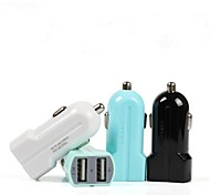 Usams Apple 3.1A Double USB Rapid Car Charger for Iphone5S 4S Samsung S4 Note3 (DC12-24V)