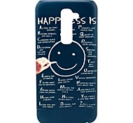 Happiness Smile Pattern Hard Case for HTC G2/D801 Magic