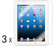 [3-Pack] alta calidad Invisible Shield Smudge Protector de pantalla para iPad Prueba 2/3/4