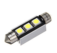 4x5050SMD Blue Light LED para carro lâmpada