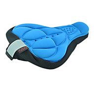FJQXZ 3D azul respirável Lycra Anti-skid Saddle Capa