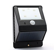 4-LED-PIR-Bewegungssensor Solar Power Wall Garden Street Lamp